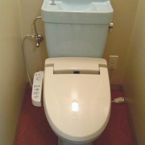 ウオッシュレット付きトイレ